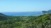 Buljarica Bay - golden horn panorama