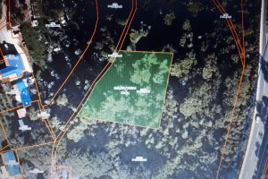 Buljarica Golubovici satellite parcels view