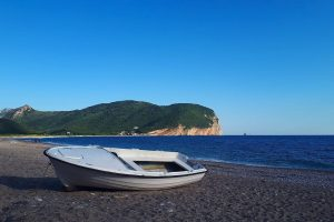 Buljarica Bay sunny beach