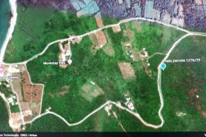 Buljarica satellite view parcel 1276-29